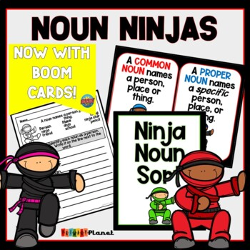 Nouns: Worksheets, Centers, Games, and Posters!