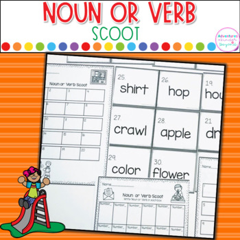 Noun Or Verb Scoot