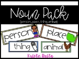 Noun Pack {Person, Place, Thing, Animal}