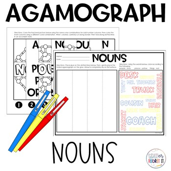 Noun (Parts of Speech) Agamograph