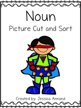 Noun Picture Cut and Sort