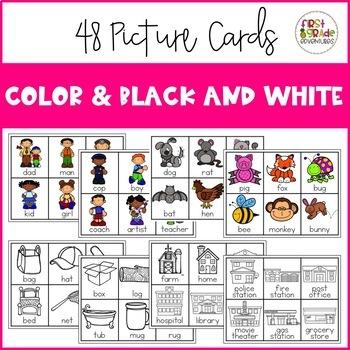 Noun Picture Sort Cards