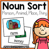 Noun Sort - Person, Animal, Place, or Thing?
