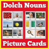 Nouns   Picture Cards   Preschool Kindergarten 1st Grade  