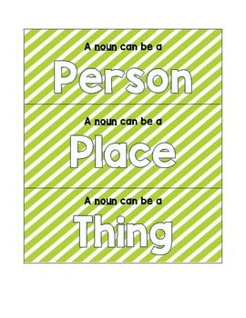 Noun Picture/Word Sort