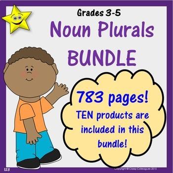 Noun Plural Bundle