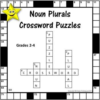 Noun Plural Crossword Puzzles