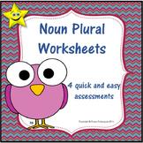 Noun Plural Worksheets