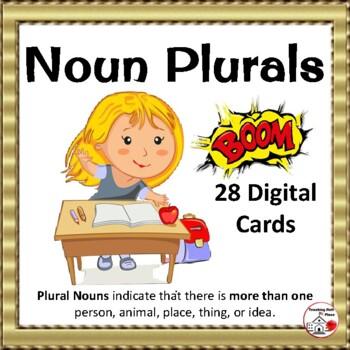 DIGITAL ... Noun Plurals ... Grammar ... Vocabulary: BOOM™  Internet Cards