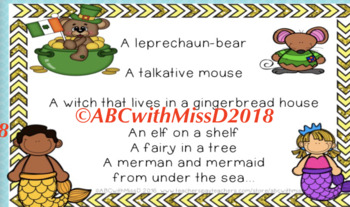 Noun Poem and Printables! No-prep lesson, activities, worksheets and homework