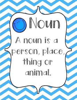 Noun Poster Display Description