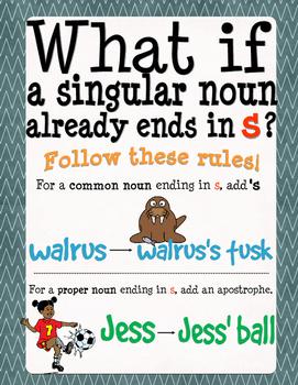 Free Noun Poster