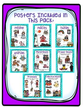Noun Poster Pack