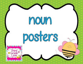 Noun Poster Set