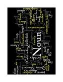 Noun Poster