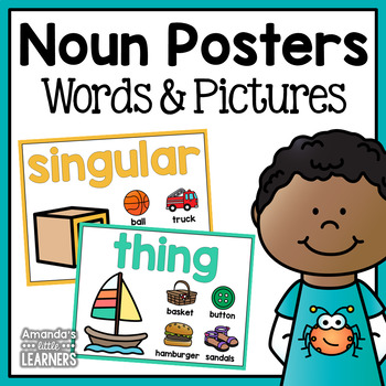 Noun Posters - Person, Place, or Thing