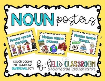 Noun Posters FREEBIE