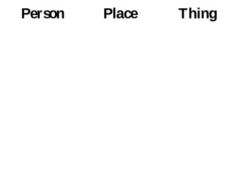 Noun Practice (Interactive Powerpoint Slideshow)