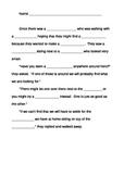 Noun Practice Story