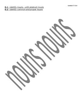 Noun Practice in iXL