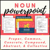 Noun Presentation and Fill-in-the-Blank Student Notes