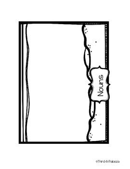 Noun & Pronoun Interactive Notebook Sort - Aquarium Themed