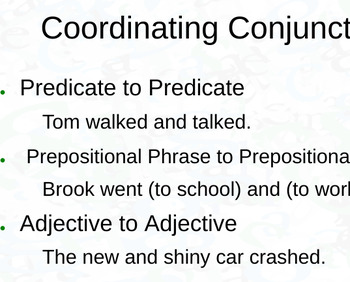 Noun, Pronoun, Preposition Notes Presentation