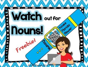 Noun QR Code Watch {freebie}