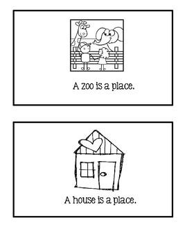Noun Reader ~ Place