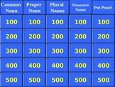 Noun Review Jeopardy Game