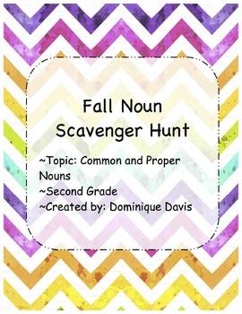 Noun Scavenger Hunt