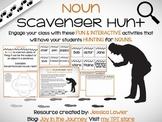 Noun Scavenger Hunt Activity