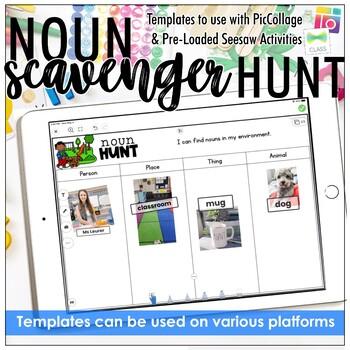 Noun Scavenger Hunt - FREE