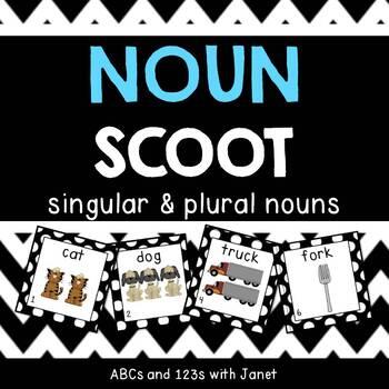 Noun Scoot! {plural nouns, add -s}