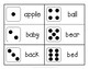 Noun Sight Word Dice Roll - Ink Friendly Reading Game