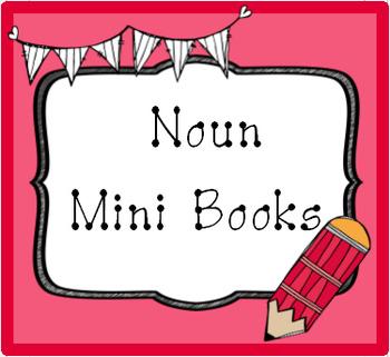 Noun Sight Word Mini Books