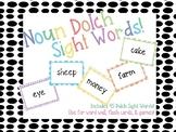 Noun Sight Words!