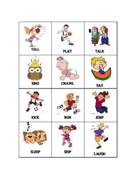 Noun Sort * BONUS- Verb cards