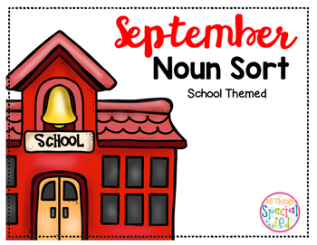 September Noun Sort