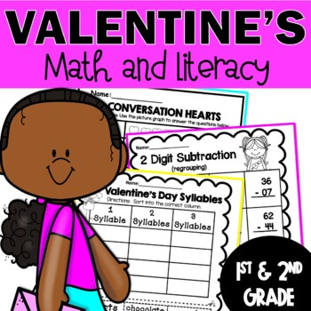 Valentine's Day Activities | Valentine's Day Worksheets | Early Finishers