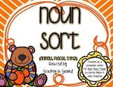 "Noun Sort Freebie {Companion for ""Bear Says Thanks""}"