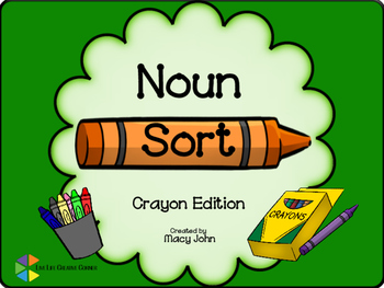 Noun Sorting Activity