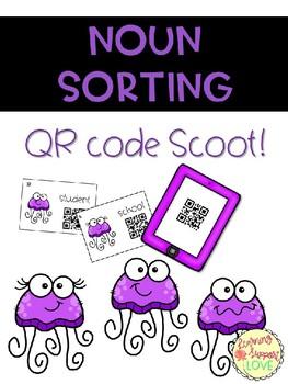 Noun Sorting QR Code Scoot