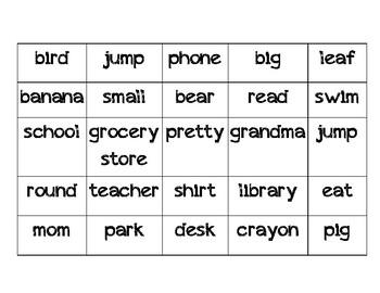 Noun Sorting / Write the Room