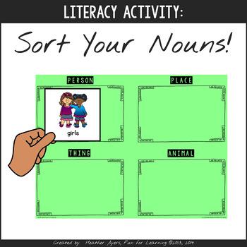 Sort Your Nouns!