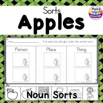 Noun Sorts: Apples