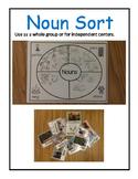 Noun Sorts Center
