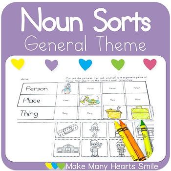 Noun Sorts: General Theme