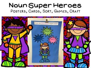 Noun Super Hero Activities