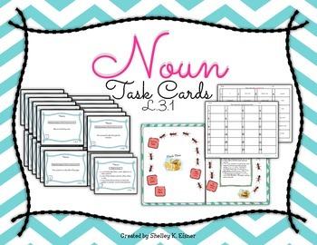 Noun Task Cards CCL.3.1a
